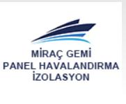 MİRAÇ GEMİ PANEL HAVALANDIRMA İZOLASYON