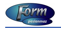 FORM PASLANMAZ