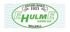 E HULME & SON LTD