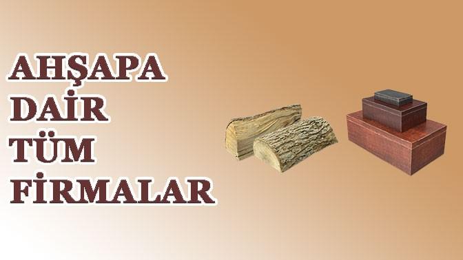 AHŞAPA DAİR HERŞEY TRADEEY.COM'DA